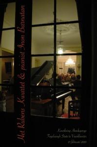 Rubenskwartet en pianist Inon Barnatan - Fogelsangh State 13-02-2010